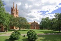 Klosterkirche vom Klosterhauptmannhaus aus