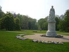 Alexandrine im Grünhausgarten