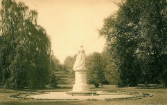 Blickachse Alexandrine Grünhausgarten, vorher